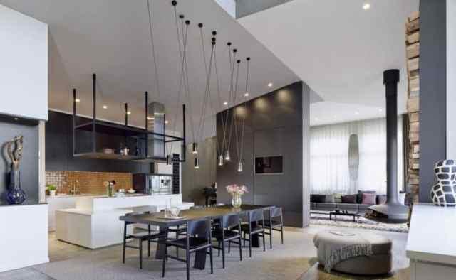 ideje za interier in notranje oblikovanje doma - modern stil 2