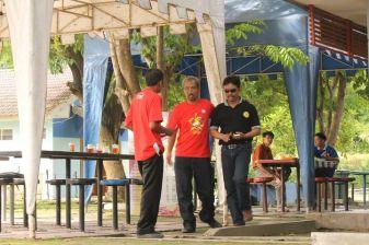 Om Mac Arius dan Om Budy - di Munas 1 Plecimania Indonesia Jogja