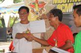 Salah satu pemenang doorprize dalam Munas 1 Plecimania Indonesia