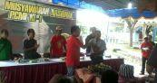 Tumpengan menandai Munas I Plecimania Indonesia di Jogja