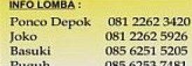 Info Lomba Burung Papburi Solo 13 Mei 2012