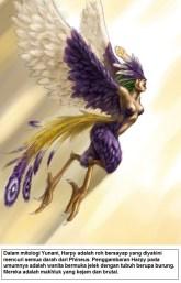 Harpy adalah roh bersayap yang diyakini mencuri semua darah dari Phineus dalam mitologi Yunani