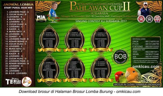 Singing Contest KLI Surabaya Pahlawan Cup II