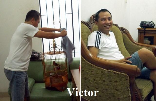 Om Victor - majikan Ceper