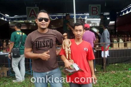 Helmi Asalvo sukses di Piala Raja