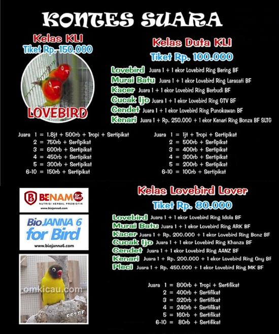 KLI Cup II - Kontes Suara