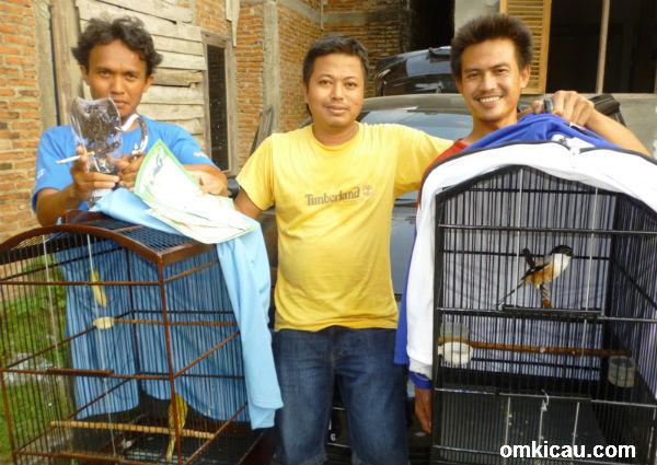 Taufiq Mayong dan pentet Sonic