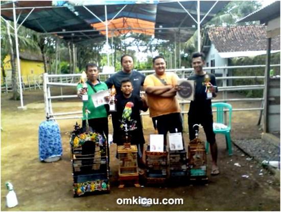 Yoyong dan personel PCMI Cilacap