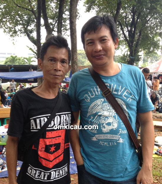 Rusdi Bintaro dan Anton Alam Sutra