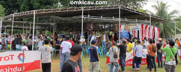 Lomba burung berkicau Troopz Indo Cup I Jambi
