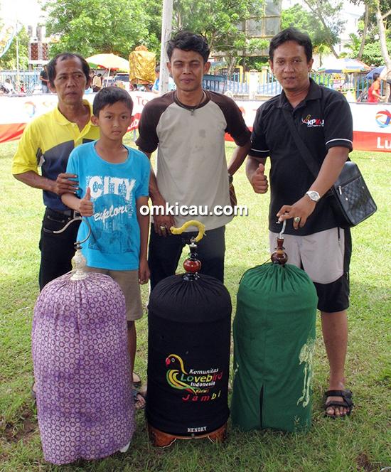 Troopz Indo Cup Jambi - Juara lovebird