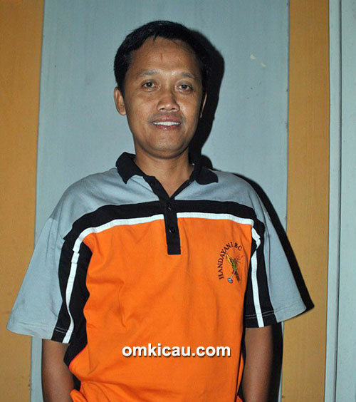 Om Yudi GK, breeder murai batu