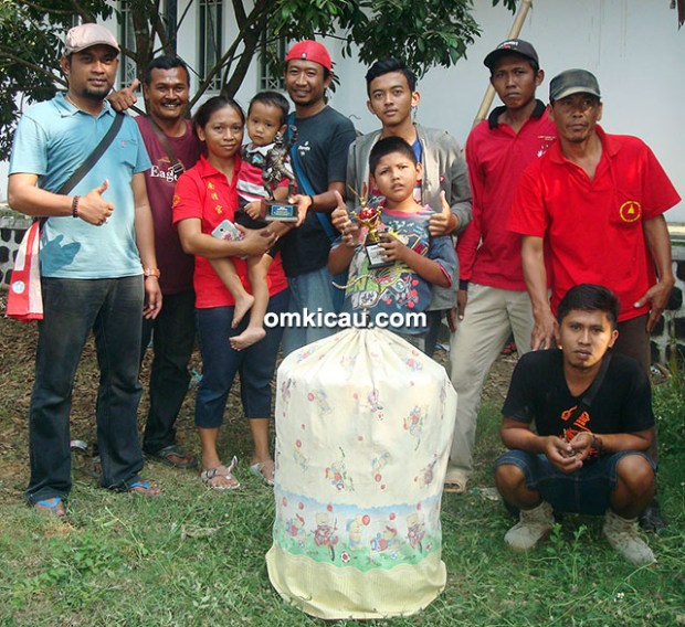 Dieng Club Cilacap dan kacer Bintaro