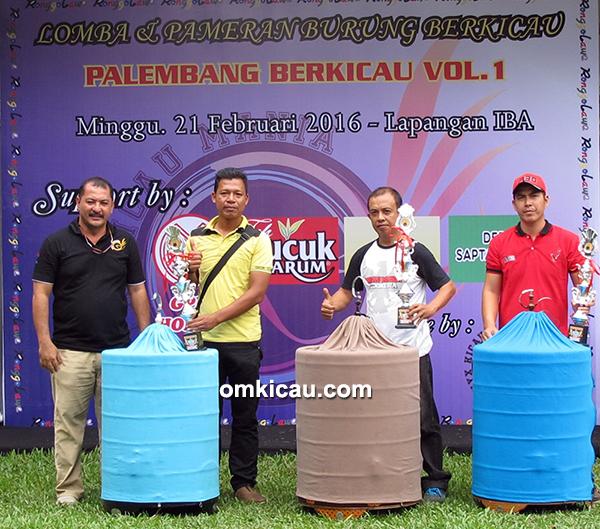 Palembang Berkicau - juara murai batu