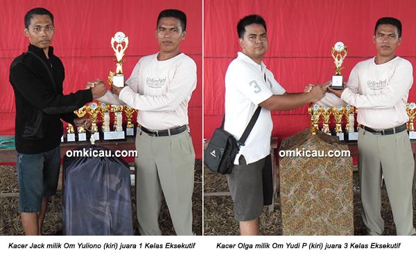 Permata BC Ogan Ilir - juara kacer eksekutif