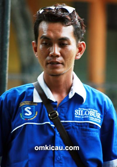 Om Kikit, ketua Silobur Semarang