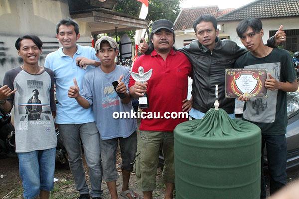 Om Widodo, pemilik murai batu Jambrong
