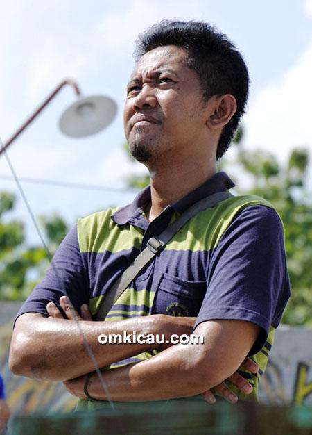 Om Eko, koordinator Latpres Sabtu Seru