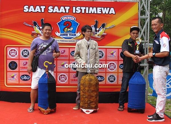 Yamaha Cup 2 Jambi-juara lovebird