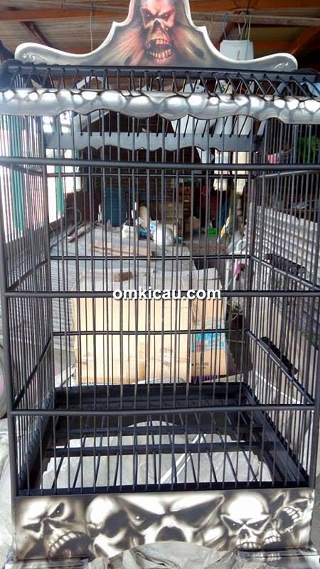 Gaok Airbrush Sangkar Surabaya