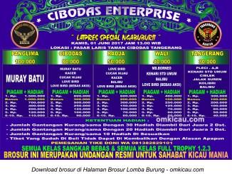 Brosur Latpres Spesial Ngabuburit Cibodas Enterprise, Tangerang, 1 Juni 2017