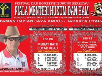 Piala Menteri Hukum dan HAM