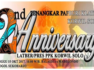 2nd anniversary ppk korwil solo