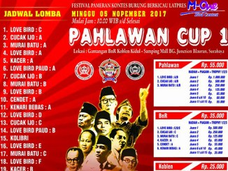 Latpres Pahlawan Cup 1