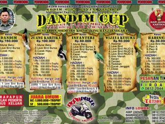 Dandim Cup Banjarnegara