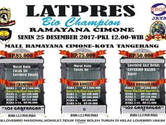 Latpres Bio Champion Ramayana Cimone