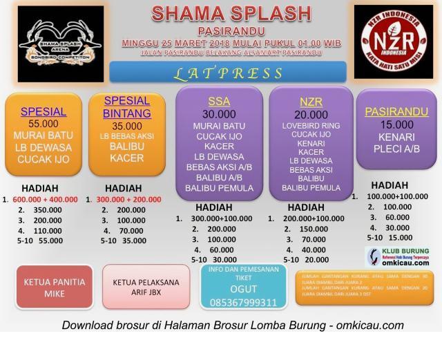 Latpres Shama Splash