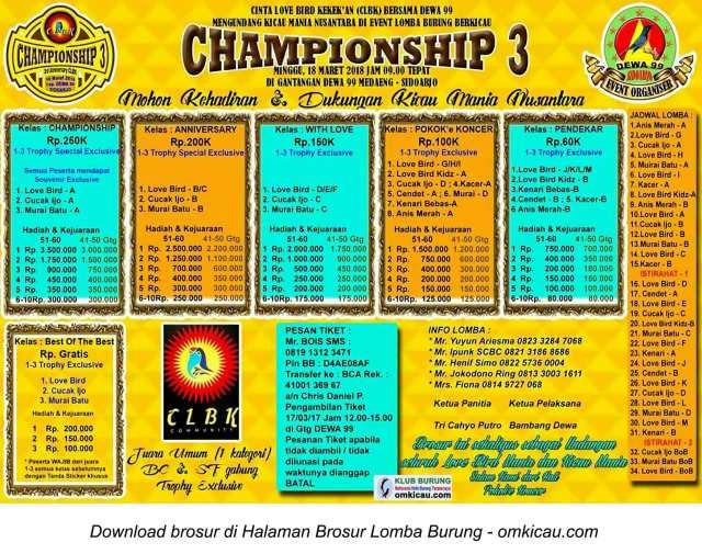 Championship 3
