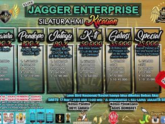 Silaturahmi Kicauan Elite Jagger Enterprise