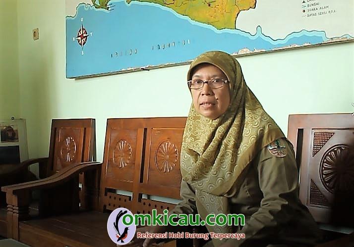 Kepala Kantor SKW 1 BKSDA Jateng Ir Titi Sudaryanti MSc