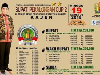 Bupati Pekalongan Cup 2