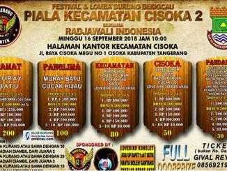 Piala Kecamatan Cisoka 2