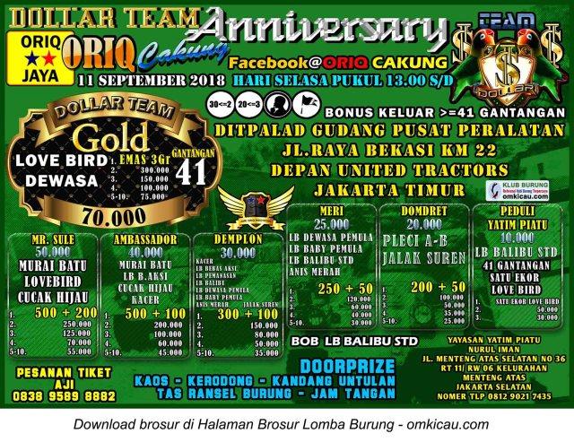 Anniversary 5 Tahun Dollar Team