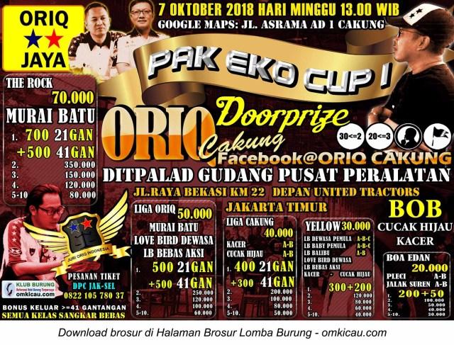Pak Eko Cup I