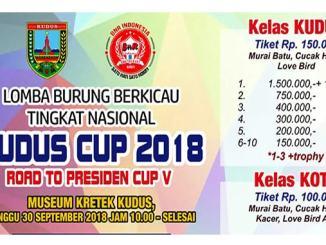 Kudus Cup 2018