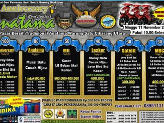 Anatama Bird Contest