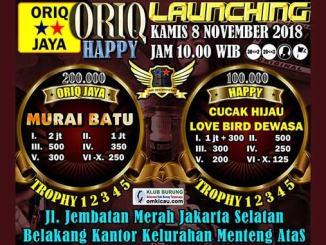 Launching Oriq Happy