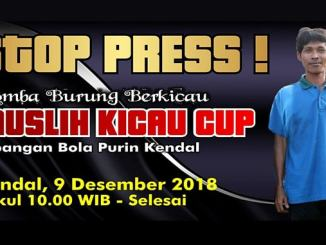 Muslih Kicau Cup