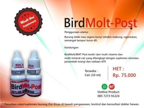 Bird Molt-Post