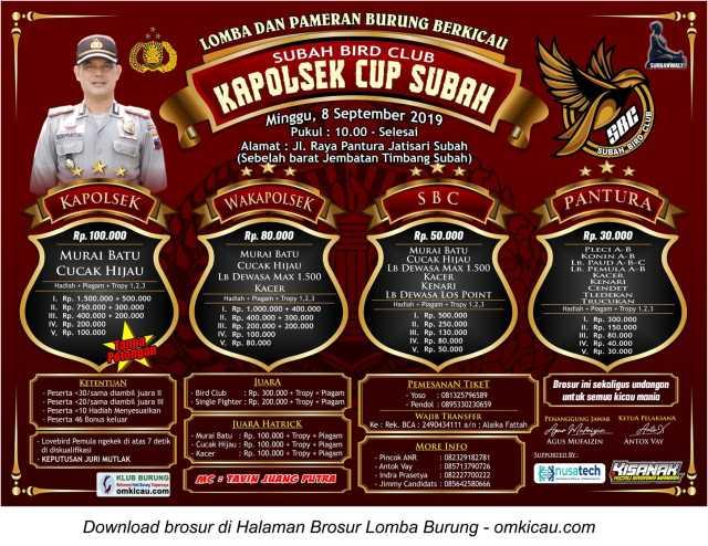 Kapolsek Cup Subah