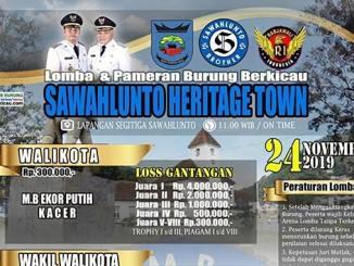 Sawahlunto Heritage Town