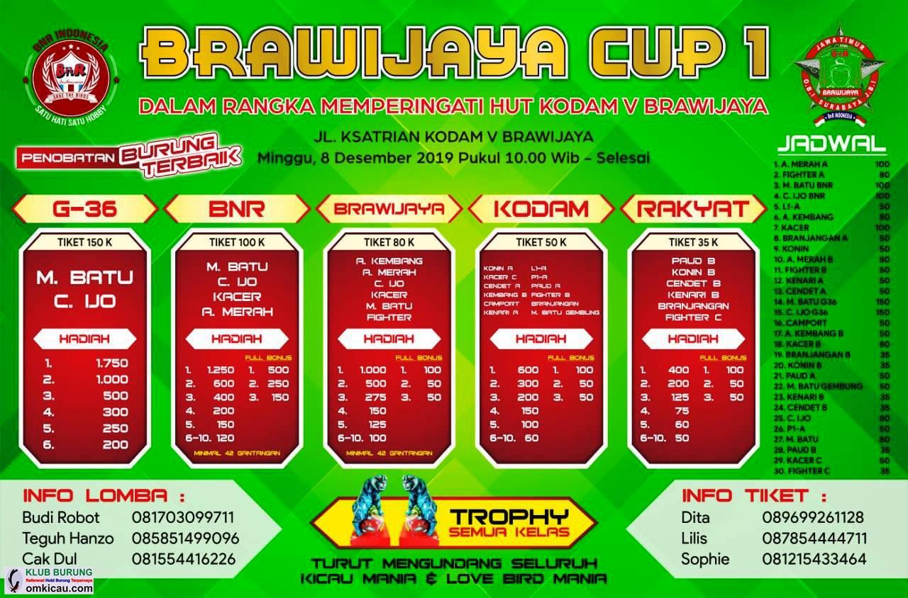 Brosur Brawijaya Cup I