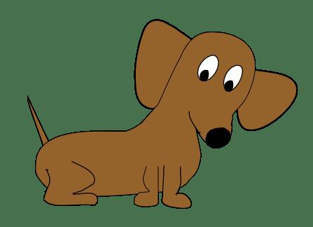 super cute dachshund design