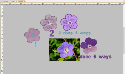 class 5 total flowers