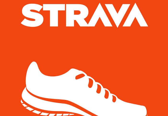 New Run activity on Strava
