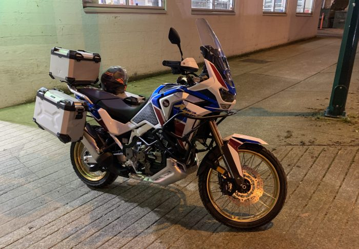 A new year, and a new bike